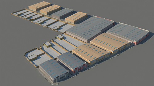 PROPOSED WAREHOUSE BUILDING + BOUNDARY WALL – Asia General